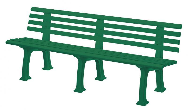Gartenbank Kunststoff Design