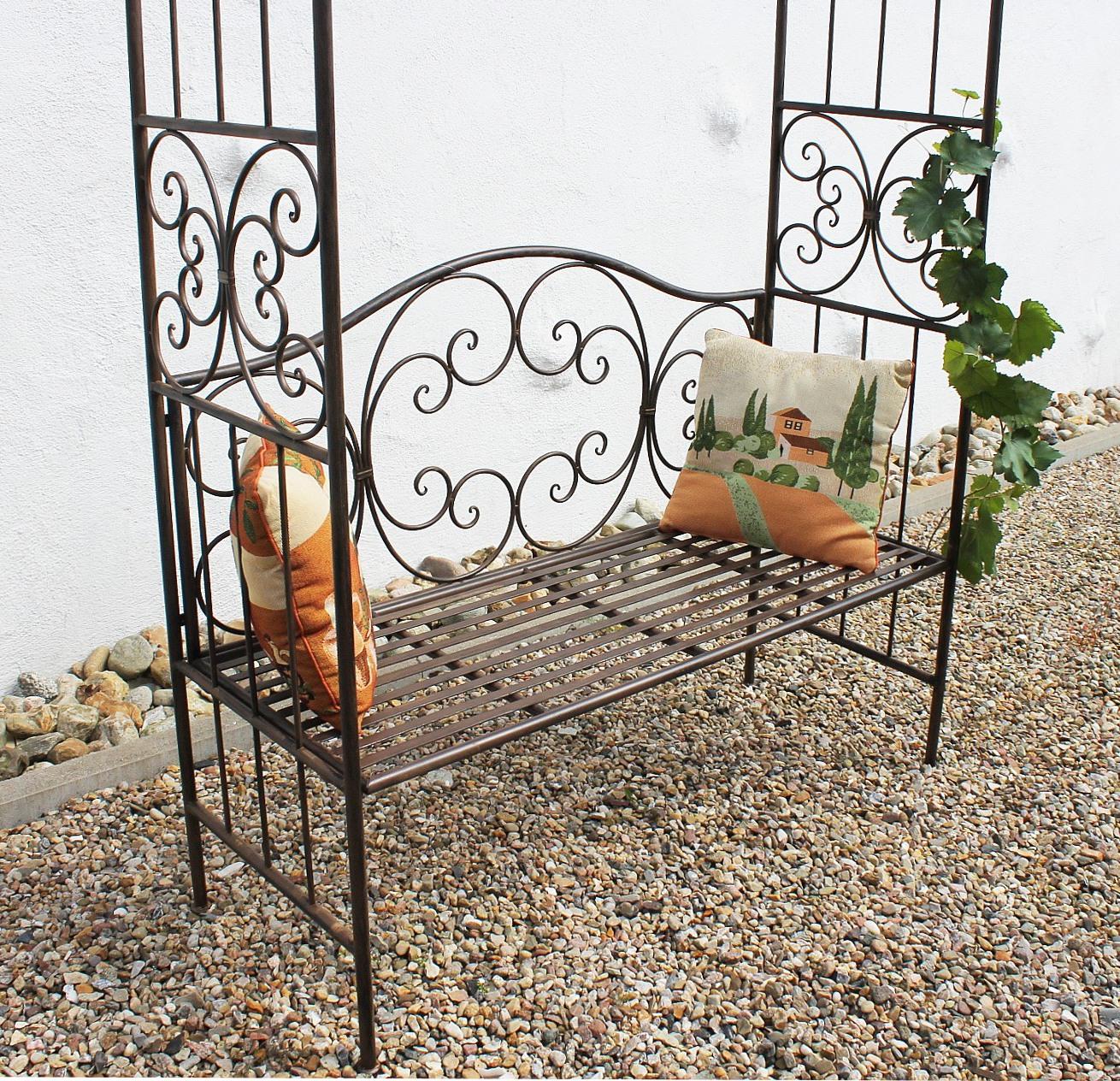 Gartenbank Metall Beschichtet