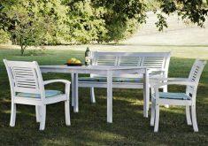 Gartenbank Weiß Holz