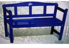 Gartenbank Blau Kaufen