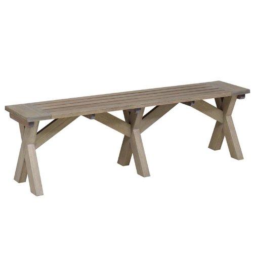 Gartenbank Holz Massiv Ohne Lehne