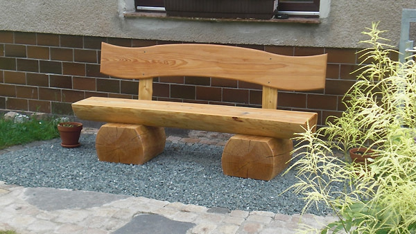 Gartenbank Holz Selber Bauen