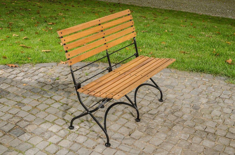Gartenbank Klappbar Metall Clp Wetterfeste Modell Romantischen