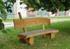 Gartenbank Massivholz Rustikal Einfach Und Robust
