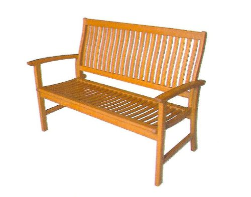 Gartenbank Yellow Balau 3 Sitzer