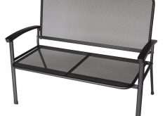Gartenbank Aus Aluminium Metall Eisen 2 Sitzer