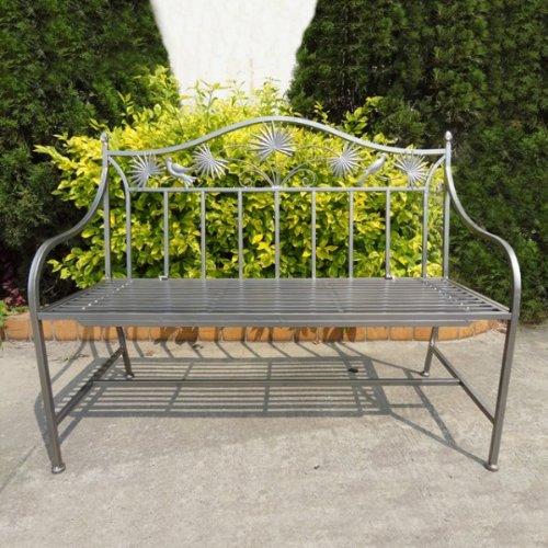 Gartenbank Aus Eisen Gusseisen Garten 2 Sitzer