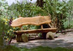 Gartenbank Aus Holz Selber Bauen