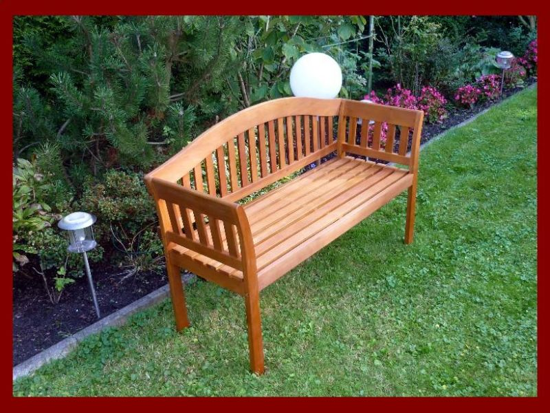 Gartenbank Holz 2 Sitzer
