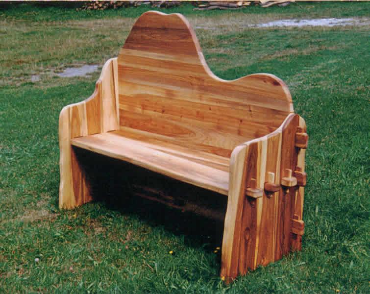 Gartenbank Holz Ch