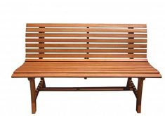 Gartenbank Modern Holz Eukalyptus Vamundo