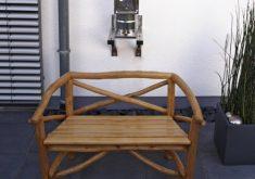 Gartenbank Rundholz 2 Sitzer