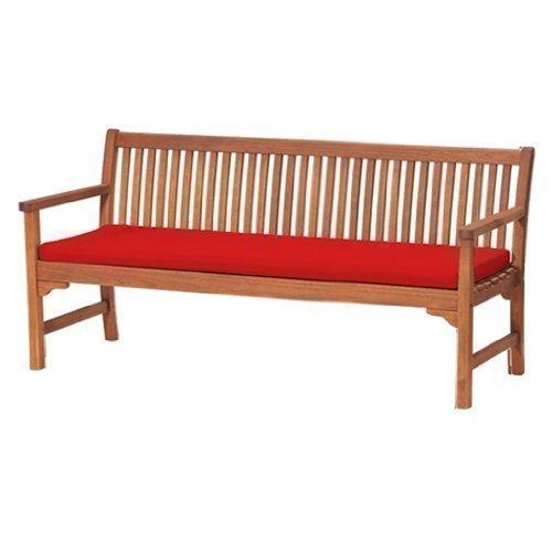 Gartenbank Auflage Rot