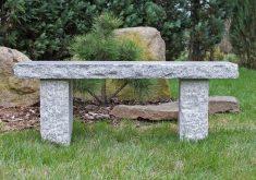 Gartenbank Granit Naturstein