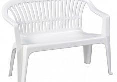 Gartenbank Kunststoff Weiß Progarden 2 Sitzig Vollkunststoffgestell