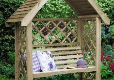Gartenbank Mit Dach Gartenlauben Und Carports Oxford Arbor