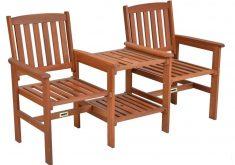 Gartenbank Mit Tisch Aus Holz Tee Bench Meranti