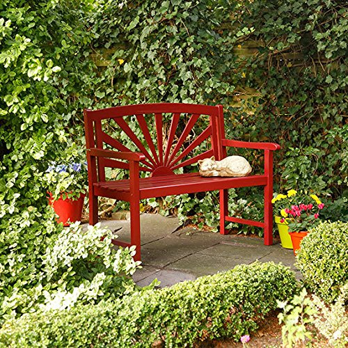 Gartenbank Rot
