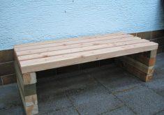 Gartenbank Selber Bauen Einfach Holz Massiv