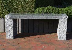 Granit Gartenbank Dehner Stein Natur