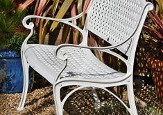 Kleine Gartenbank Aluminium Lazy Susan