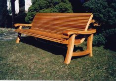 Suche Massive Gartenbank Holz 3 Sitzer