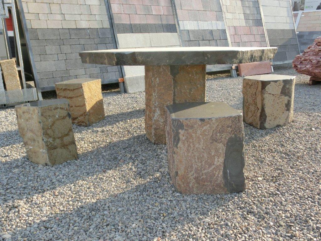 Amazon Gartenbank Granit Stein