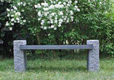 Gartenbank Granit