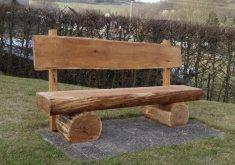 Gartenbank Holz Massiv Rustikal