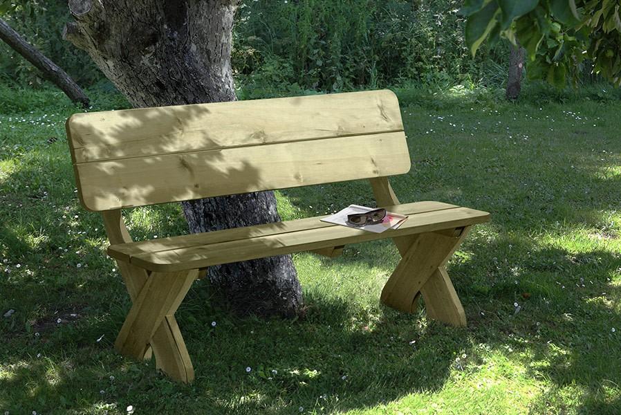 Gartenbank Holz Rustikal Selber Bauen