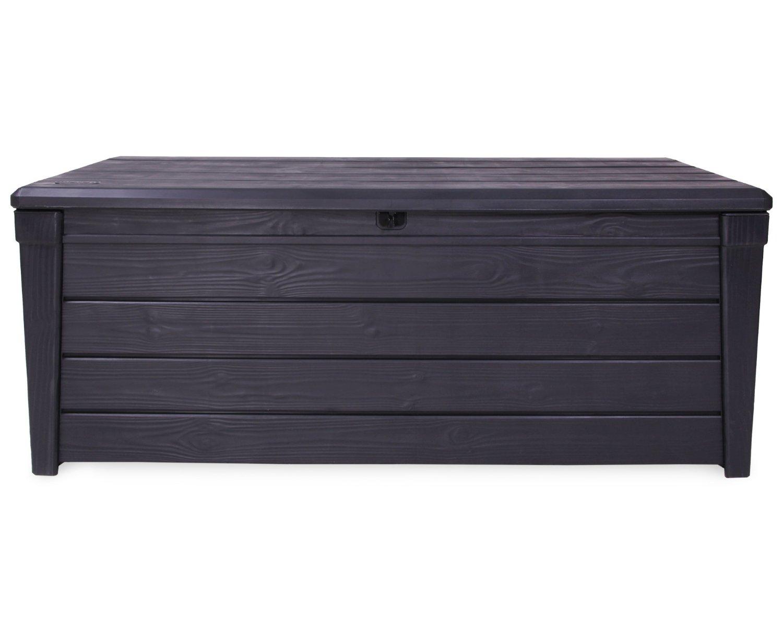 Gartenbank Kunststoff Holzoptik Keter
