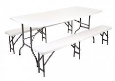 Gartenbank Kunststoff Kaufen Gartenset Tisch