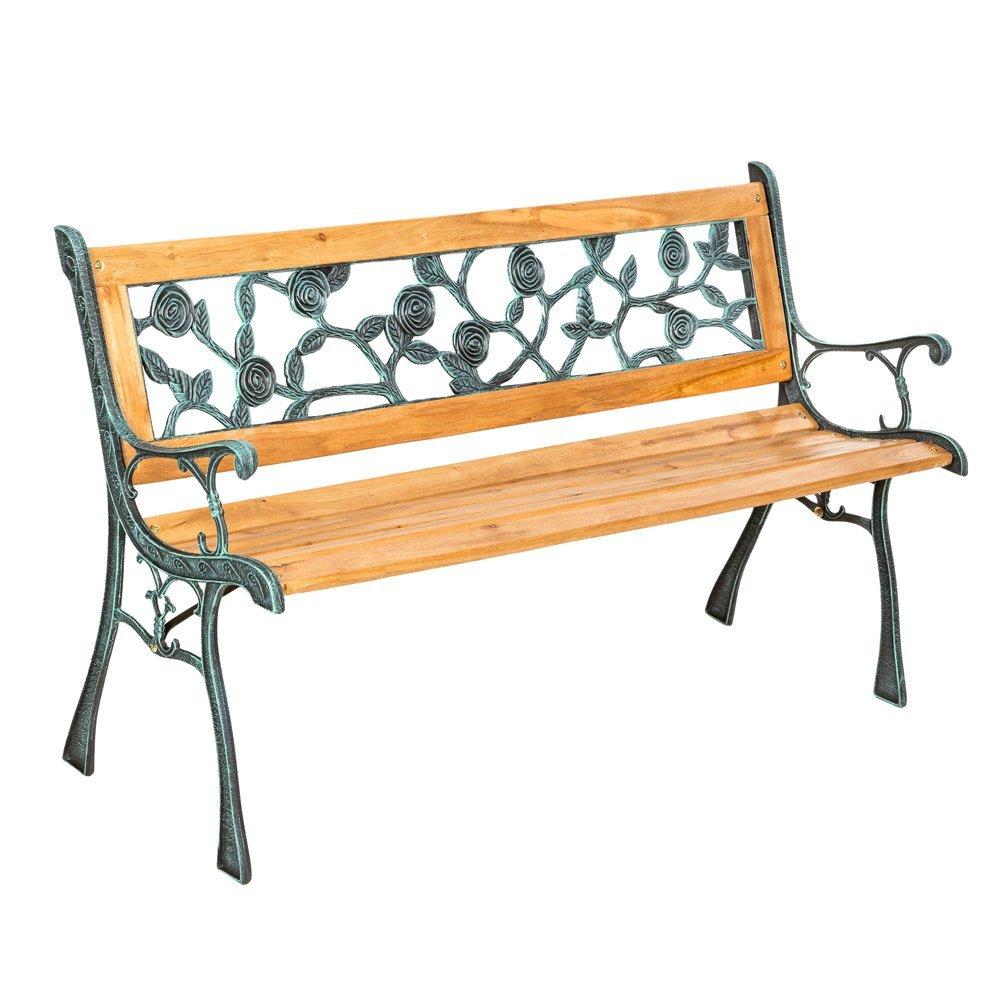 Gartenbänke Holz Und Metall