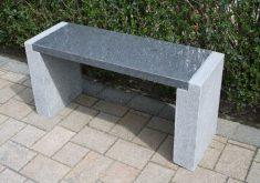 Gartenbank Aus Stein Selber Bauen Natur Granit