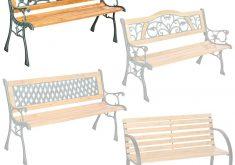 Gartenbank Holz Mit Gusseisen