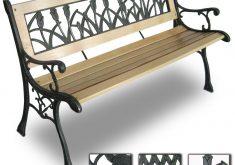 Gartenbank Holz Und Gusseisen