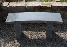 Gartenbank Stein Modern Granit