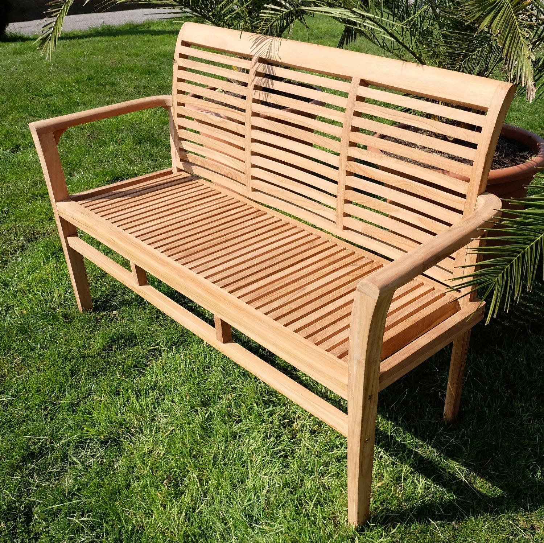 Moderne Gartenbank Design 3 Sitzer