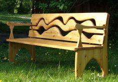 Design Gartenbank Holz Rustikale