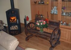 Gartenbank Bauplan Antik Holz Massiv