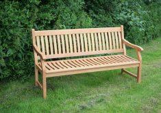 Gartenbank Holz 3 Sitzer Mit Gravur Massive
