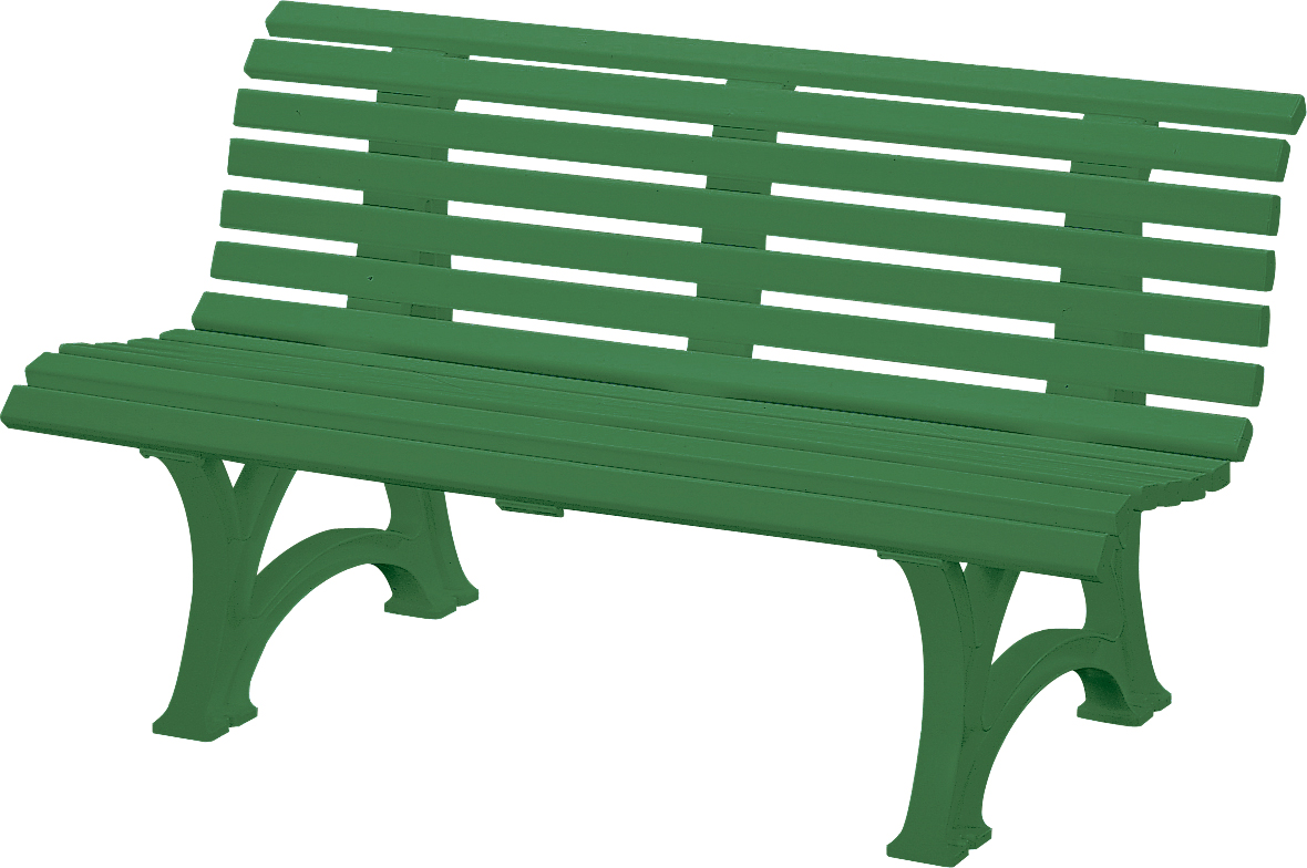 Gartenbank Kunststoff Grün 150 Cm Gruen Neptun