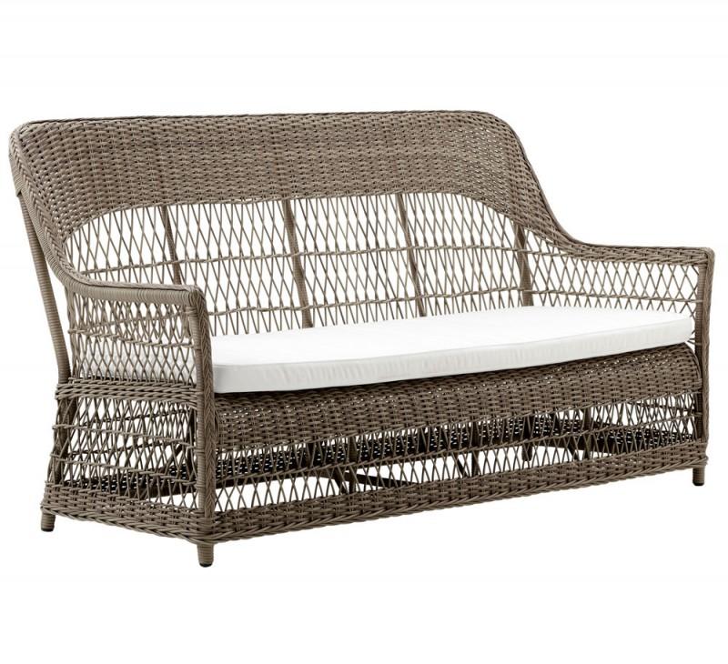 Gartenbank Polyrattan Obi Dawn Sika Design 800×730