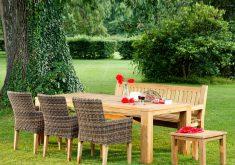 Gartenbank Rom Polyrattan Sitzgruppe