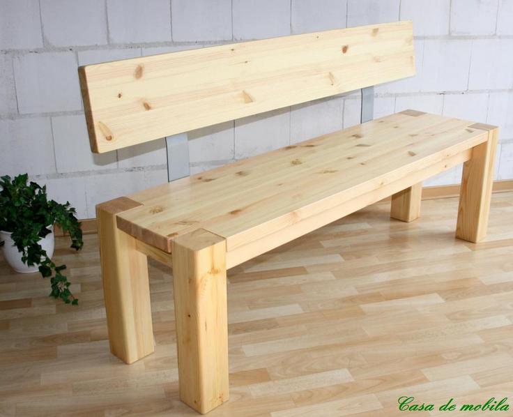 Gartenbank Weiß Holz Ohne Lehne