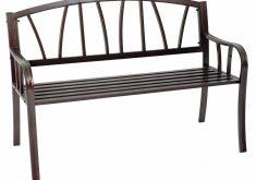 Gartenbank Wetterfest Ebay 2 Sitzer Metall Braun Verzinkt