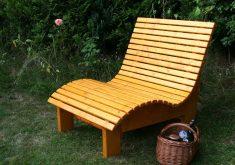 Wetterfeste Gartenbank Holz Massiv Woodini Mia Kiefer
