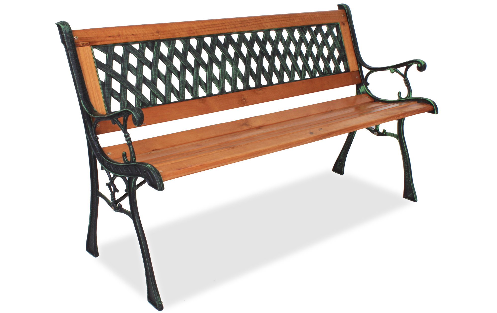 Wetterfeste Gartenbank Metall Und Holz