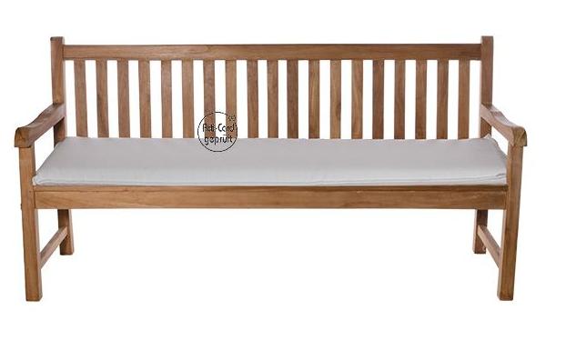 Auflagen Für Gartenbank 180 Cm Einfache Weiße Farbe, Um Den Eindruck Einer Sauber Und Ordentlich Zu Produzieren