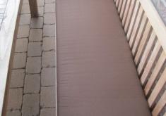 Auflagen Für Gartenbank 200 Cm Grau Braune Farbe, Die Länge, Ist Das Motiv Klar Und Moderne Beeindruckt